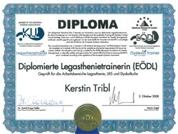 Zertifikat-Legasthenie